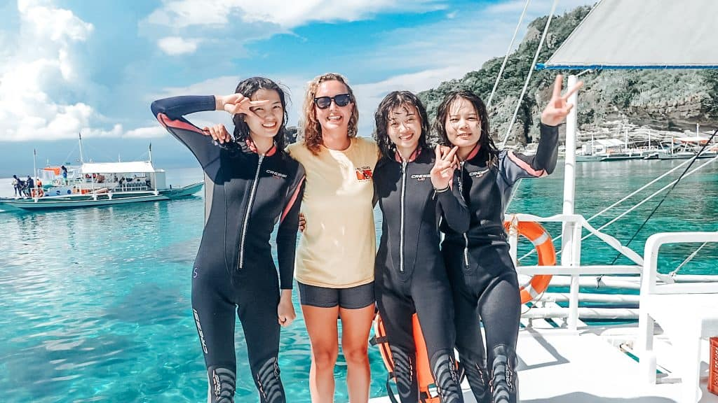 As A Dive Instructor You'll Make Friends From All Over The World