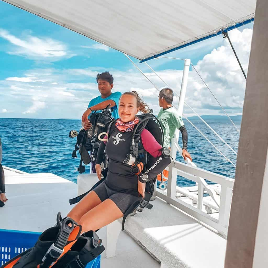 Working As A Dive Instructor In The Philippines